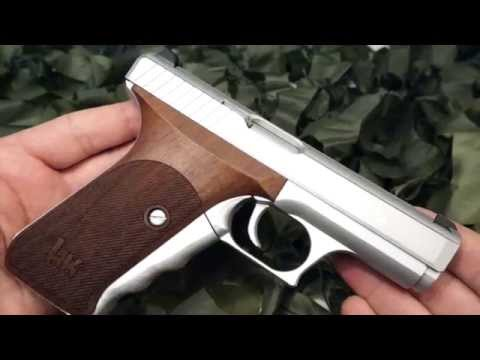 H&K P7 PSP 9mm Squeeze Cocker Semi Auto Pistol Overview - New World Ordnance