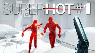 SuperHot Gameplay - #1 - Let's Play Super Hot - German / Deutsch