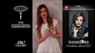 Miss International Comunidad Valenciana Showstars Model 2015