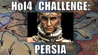 Hearts of Iron 4 Challenge:  Restoring Persia