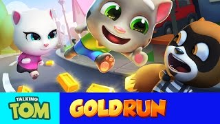 Talking Tom Gold Run – Friends vs. the Robber (Compilation)