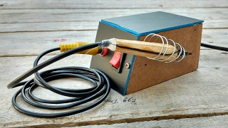how to make a soldering iron - 12V