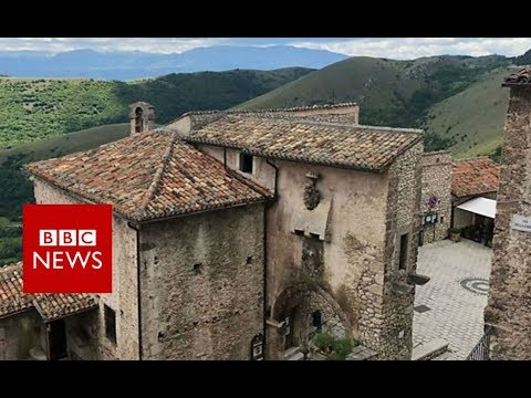 Xxx Mp4 Reviving Italy S Ghost Towns With An Unusual Hotel BBC News 3gp Sex