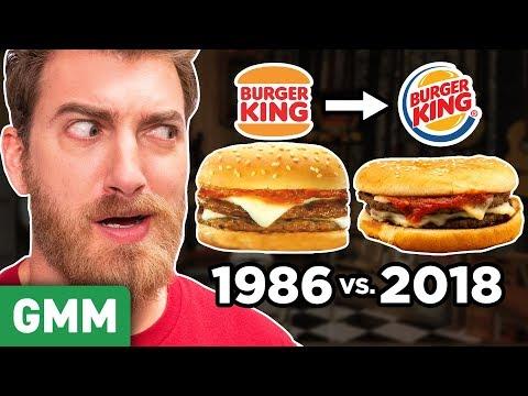 Recreating Discontinued Burger King Menu Items TASTE TEST