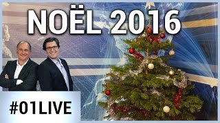 01LIVE HEBDO #123 : La sélection high-tech de Noël 2016 !