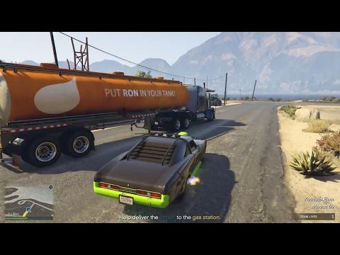 GTA 5 Online #2 - Nhiệm vụ cướp gói hàng cho đại gia và troll đồng đội   ND Gaming