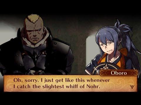 Fire Emblem Fates: Revelation - Oboro & Benny Support Conversations