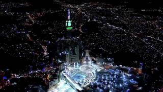 Atmospheric Filming By Helicopter For The Biggest Clock Tower Over The World In Mecca