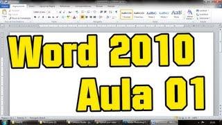 Aula 01 de Word 2010
