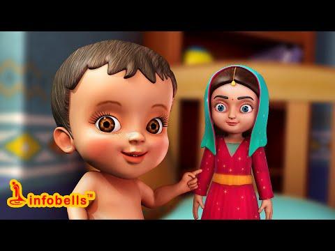 பொம்மையம்மா | Tamil Rhymes & Baby Songs for Children | Infobells
