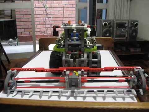 LEGO TECHNIC 8274 COMBINE HARVESTER