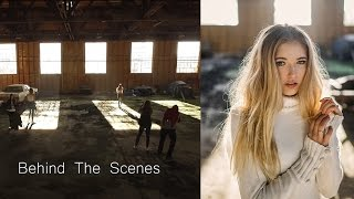 Old Warehouse Photoshoot Behind The Scenes, Natural Light