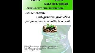 Alimentazione e integrazione probiotica 1 Parte