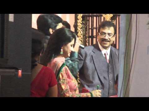 Bengali Film Actress Rachana Banerjee Is Present In The Sasthitala Fair.