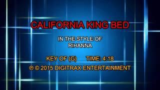 Rihanna - California King Bed (Backing Track)