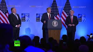$33bn more: Everyone agreed to substantially up their commitment - Trump on NATO spending
