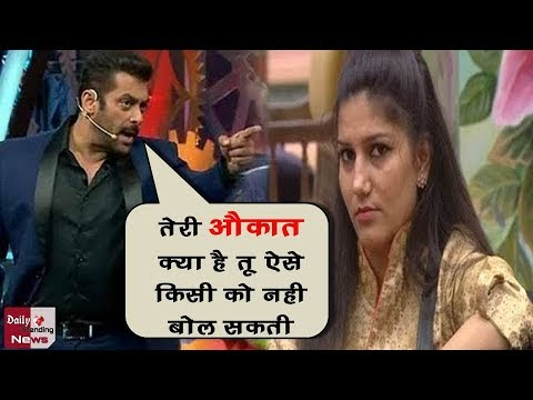 Xxx Mp4 Bigg Boss 11 सलमान खान ने लगाई सपना को फटकार Salman Khan Scolded Sapna Choudhary 3gp Sex