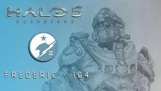 Dibujando a Fred-104 - Equipo Azul - Halo 5