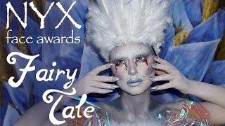 Snow Queen Makeup Tutorial - NYX FACE Awards 2016 | Alexandra Anele
