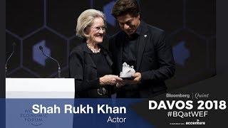 WEF 2018: ShahRukh Khan's Crystal Award Speech