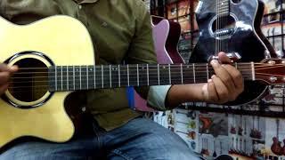 Ki Jala Diya Gela More - Hridoy Khan guitar cover easy chord and lessons