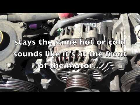 bad Forester noise from front of engine