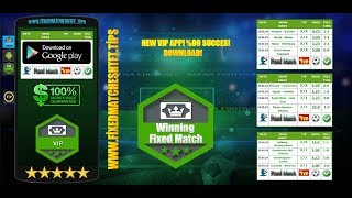 Winning Fixed Match VIP APP! %99 SUCCES! DOWNLOAD!