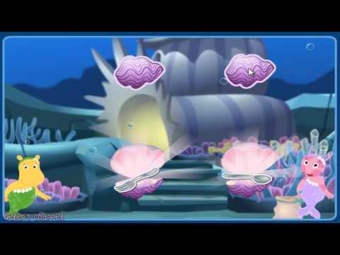 The Backyardigans Mermaid Garden Matching Game Full Gameplay Online Game