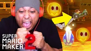 I CAN'T STAND THESE DAMM CARS!! NO MORE CARS!! [SUPER MARIO MAKER 2] [#08]