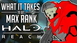 What It Takes to Get Max Rank in Halo Reach (Inheritor)