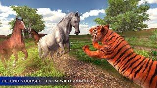 Virtual Wild Horse Family Sim : Animal Horse Games