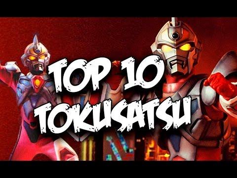 Top 10 Tokusatsu