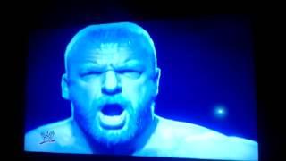 Triple h entrance in wrestlemania 29