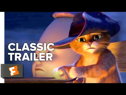 Puss in Boots (2011) Trailer #1   Movieclips Classic Trailers