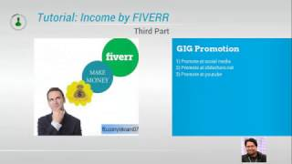 Tutorial: Online income by FIVERR (part 3)