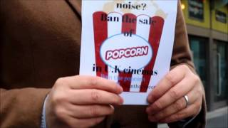 Cinema-goer starts petition to ban popcorn at the movies