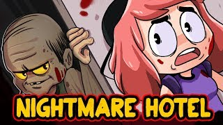 ACCIDENTALLY WENT TO A SCARY HOTEL (Animated)
