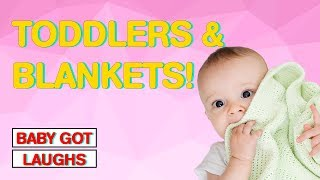 Babies and Toddlers Love Blankets!! | Cute Baby Moments!