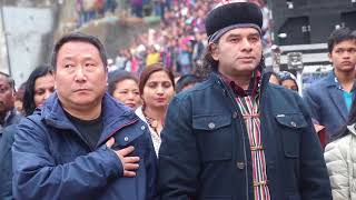 Mohit Chauhan And Sofiyum Band---Live In Concert At Singhik Busty,28-1-2018.
