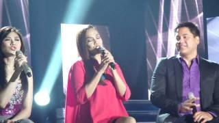 concert king martin nievera with zsa zsa, kuh,angeline & popstar princess sarah G - ASAP ROCKS