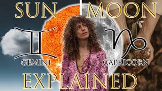 ☉ Sun in Gemini ☽ Moon in Capricorn