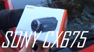 Unbox & Review: Sony HDR CX675 Camera