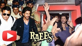 Raees Promotions | Shahrukh Khan Travels By Train After Many Years From Mumbai To Delhi
