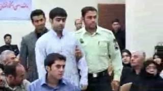 Mossad Terrorist in Iran Revolutionary Court