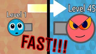 Diep.io HOW TO GET TO LEVEL 45 FAST - RAMMER