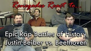 Renegades React to... Epic Rap Battles of History Justin Bieber vs. Beethoven