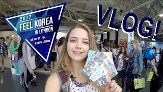 FEEL KOREA 2017 VLOG! + Behind the Scenes with Idols
