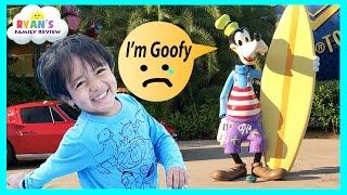 Family Fun Vacation Trip Bike Ride Outdoor Activities for Children! Disney Resort Kids Arcade Games
