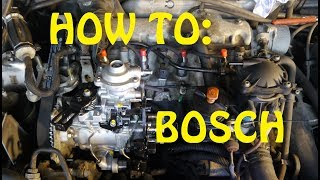 HOW TO: BOSCH CONVERSION