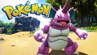 NIDOKING IS INSANE! (3D POKEMON ARK)